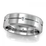 Diamond Wedding Bands for Men